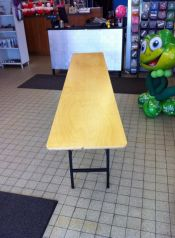 Table école 8 pi x 18 po